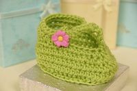 Style'n T-Strap Booties. Free Pattern for New Borns and 3 months - 6 Months. Free pattern is available