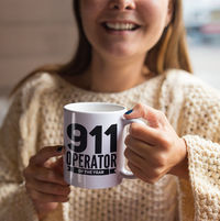 911 Dispatcher Gifts - 911 Operator Of The Year Coffee Mug Tea Cup - Emergency Dispatcher Birthday Present $19.95