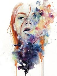 this thing called art is really dangerous Art Print b Agnes-cecile