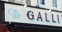 Hand painting | The Gallimaufry by Ged Palmer, via Behance