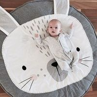 How adorable is bunny! Whether you are obsessed with cute kids décor, or simply want a gorgeous play mat to compliment your home, this super comfy, uber stylish