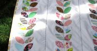 """The Life of a Cheap Chickadee: A Different kind of """"Baby Thoughts"""" Quilt Tutorial"""