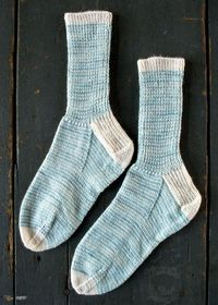 Whit's Knits: Striped CrewSocks - The Purl Bee - Knitting Crochet Sewing Embroidery Crafts Patterns and Ideas!