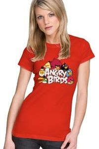 I was super excited to finally find a Angry Birds tshirt for women!