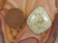 Natural Nevada Variscite Cabochon Gemstone | Silver Peak | 23cts | Hand Cut for Jewelry Making $28.75