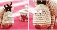DIY: Gehäkeltes Rentier im Amigurumi-Stil - DaWanda - People and Products with Love