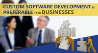 Why is Custom Software Development Preferable for Businesses?