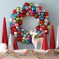 Top 10 Christmas Wreaths: Easy to Make, Beautiful, Inexpensive, Cool. A Roundup of Wreaths.