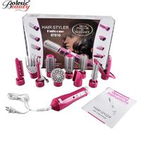 �Ÿ˜�Promotion Hair Comb combs Electric 10 In1 Multifunctional Hair Curlers Styling Tools Sticks Dryer Set Curling Multiple Modeling�Ÿ˜� $51.66