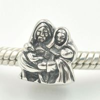 Authentic Pandora Holy Family Charm Bead #791369 Retired, Authentic $60.00