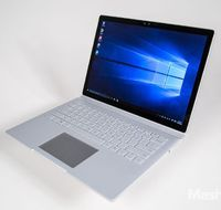 the Microsoft Surface Book's 13.5-inch screen is also a removable tablet