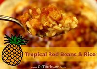 Easy-to-prepare Tropical Red Beans and Rice makes a flavorful, hearty meal. At just $0.70 per serving, this nutritious dish is very affordable!