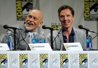 "John Malkovich and Benedict Cumberbatch each made their Comic-Con debuts �€"" as themselves and as their first animated characters."