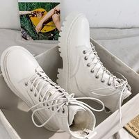 Fashion Leather Platform Motorcycle Women Boots,NEW,on Sale! More Info:https://cheapsalemarket.com/product/fashion-leather-platform-motorcycle-women-boots/