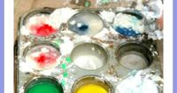 Ever wondered what it would be like to try to make homemade paint? Here are 11 super simple recipes you can make and paint with today. All 3 ingredients or less
