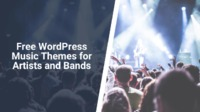 If you are a musician, artist, band, entertainer, or involved in the music industry we have listed the 10 best free WordPress music themes for you.