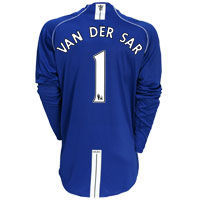Nike Manchester United Goalkeeper Shirt 2007/09 with Manchester United Goalkeeper Shirt 2007/09 with Van der Sar 1 printing - Long Sleeve. http://www.comparestoreprices.co.uk/sportswear/nike-manchester-united-goalkeeper-shirt-2007-09-with.asp
