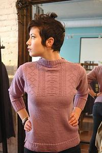 Maid in Guernsey | a modern take on a traditional Guernsey, knitting pattern by Janine Le Cras. Pattern published in Knit Edge magazine, issue two, with accompanying article in which Janine talks about the design process behind this sweater (including...