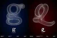 Graphic designer Romain Roger has created a series of posters of the most beautiful typography effect called �€œGalaxy Type Posters�€. Paying tribute t
