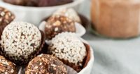 || Chocolate Tahini Oat Bites!|| Yummy energy balls, to take with you throughout the day! (substitute for coffee)