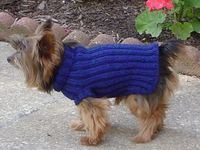 Spunknit's Knitted Dog Sweater Pattern