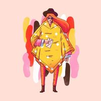 Brasilian illustrator Lucas Wakamatsu, or simply Lucas Waka, likes bright colors. It's a fact. And it shows. Through a series of warm colored illustratio