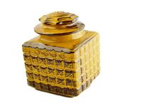 Yellow Canister, Vintage Yellow Cookie Jar $30.00