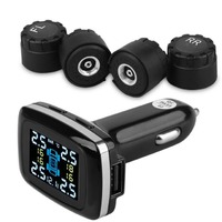 TPMS Tire Pressure Monitor System Intelligent Car LCD Display Tire Pressure Alarm Systems