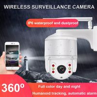 1080P HD Outdoor Wireless Wifi IP Camera Home Waterproof Security Night Vision Monitor