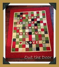 Moda Bake Shop: Out the Door Charm Quilt