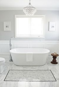Valspar Polar Star Light Gray Bathroom Paint Color