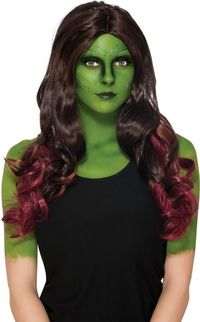 Gamora Child Wig $29.91 https://costumecauldron.com