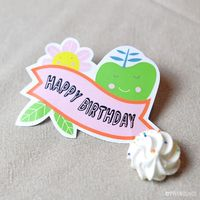 Free Happy Birthday printable from