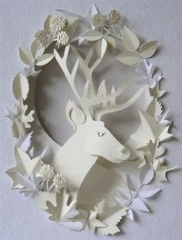Nhim: Papercutting art, paper fashion