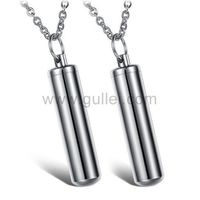Gullei.com Hidden Message Pill Capsule Couple Necklaces Set for Lovers https://www.gullei.com/couples-gift-ideas/matching-couple-necklaces.html