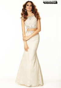 Mori Lee 97027 Lace Two Piece Prom Mermaid Evening Dresses