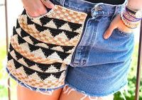 Crochet Pocket DIY free pattern