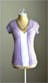 Ravelry: Leaf Lace Cardigan pattern by Universal Yarn