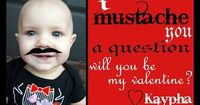 I mustache you a question v-day cards