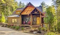 3 Bed Cottage Escape With Vaulted Ceilings - 92379MX | 1st Floor Master Suite, CAD Available, Cottage, Country, Exclusive, Media-Game-Home Theater, Mountain, PDF, Photo Gallery, Sloping Lot, Vacation | Architectural Designs