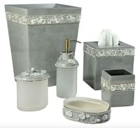 Chantilly Bath Accessories by Mike + Ally $401.00