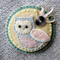 I'm all about owls at the moment. No tutorial for this one but how hard can it be?
