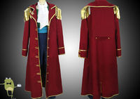One Piece Gol D Roger Cosplay Costume Captain Coat