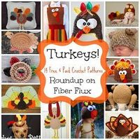 Adventures in Stitching: Turkeys! 14 Free and Paid Crochet Patterns...
