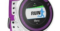 Garmin Forerunner 220: Equipped with GPS to track your route and vibration to let you know when you're running off pace, $249.99