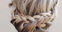 Princess Braid (Reminds me of something Elsa from Frozen would wear!)