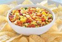 Mango Confetti Salsa - The Pampered Chef® but added cilantro and and extra lime juice and real chilis from my garden.