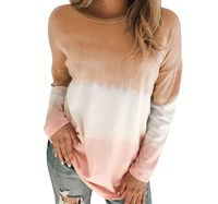 Casual O-Neck Print Pullover Striped Sweatshirt for Women,NEW,on Sale! More Info:https://cheapsalemarket.com/product/casual-o-neck-print-pullover-striped-sweatshirt-for-women/