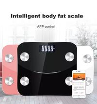 KCASA Intelligent Body Fat Scale App Smart Wireless Scale for Body Weight Body Fat Water Muscle Mass BMI Bone Mass Visceral Fat etc