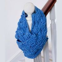 Crochet Infinity Scarf Pattern - Crochet Creative Creations- Free Patterns and Instructions